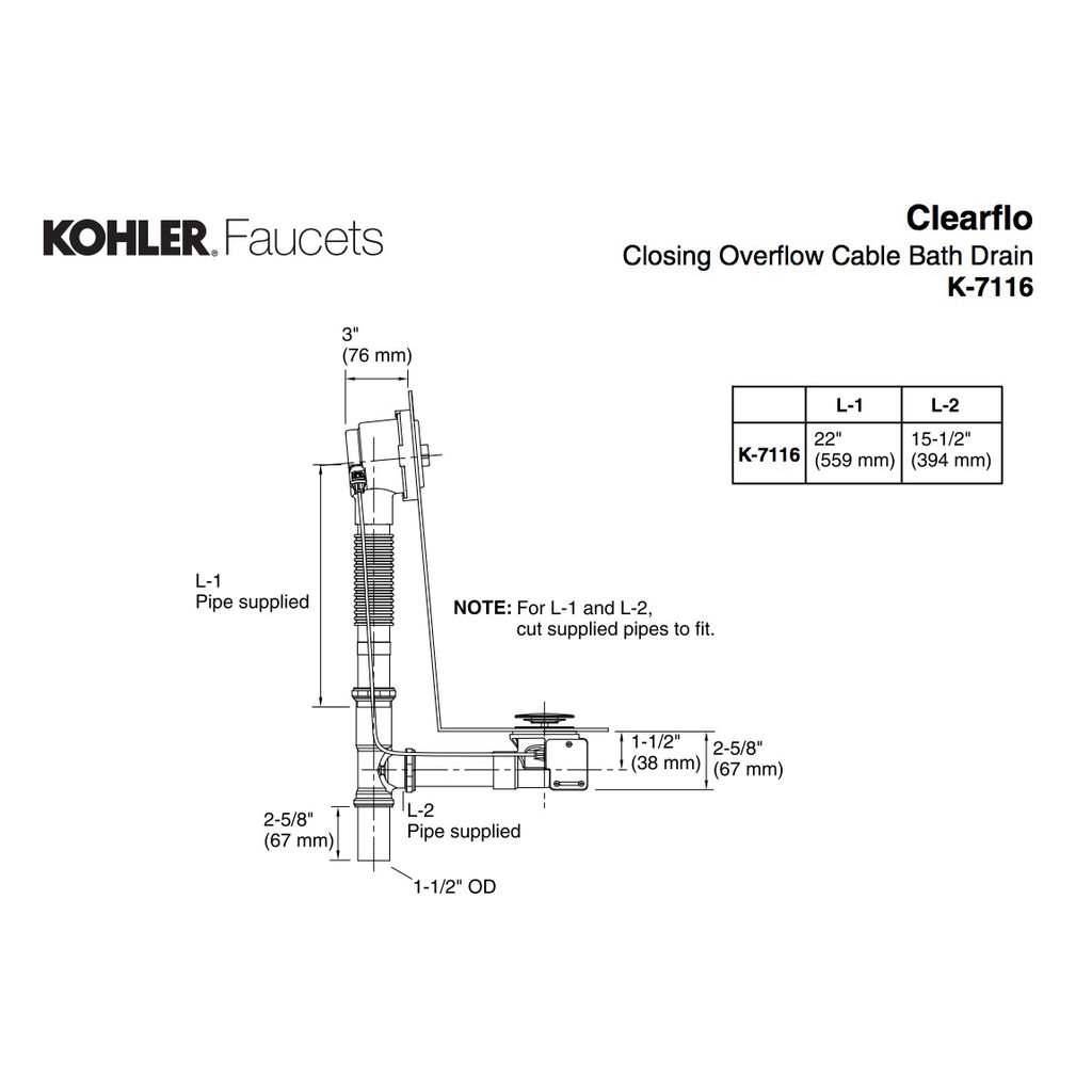 Kohler Piping Diagram Smart Wiring Diagrams 15 5 Hp 7116 2bz Clearflo Closing Overflow Home Comfort Centre Rh Homecomfortcentre Com 16 Generator