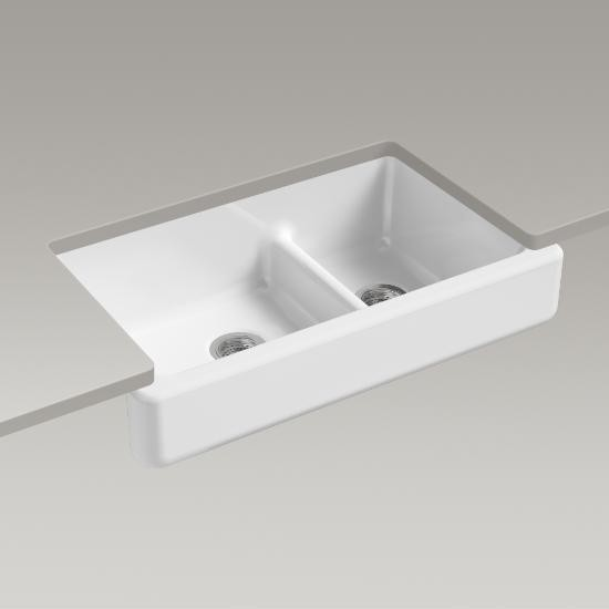 Kohler 6426 0 Whitehaven Self T Smart Divide 35 1 2