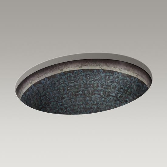 Kohler Kohler 14218 SP G9 Serpentine Bronze On Caxton Under Mount Bathroom  Sink ...