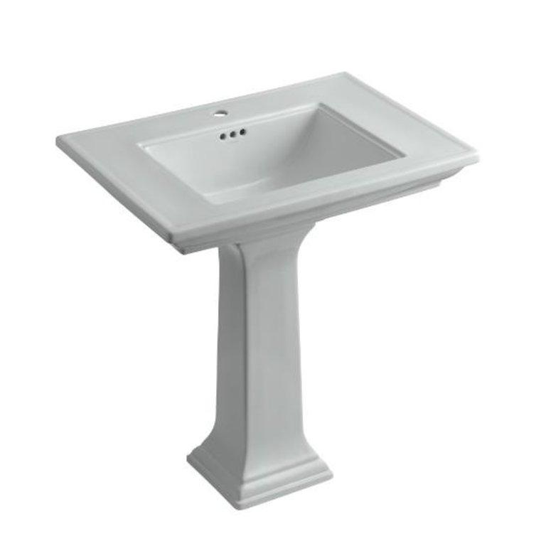Kohler 2268 1 95 Memoirs Pedestal Lavatory With Single Hole Faucet