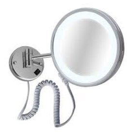Laloo Laloo 2010C Wall Mount Swing Mirror Plug In Chrome