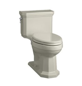 Kohler Kohler 3940-G9 Kathryn Comfort Height One-Piece Compact Elongated 1.28 Gpf Toilet With Aquapiston Flush Technology And Concealed Trapway