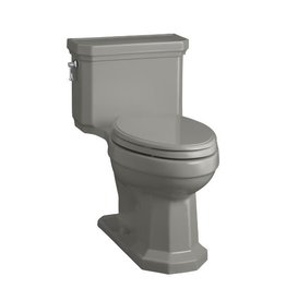 Kohler Kohler 3940-K4 Kathryn Comfort Height One-Piece Compact Elongated 1.28 Gpf Toilet With Aquapiston Flush Technology And Concealed Trapway