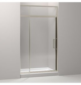 Kohler Kohler 705823-L-ABV Lattis Pivot Shower Door With Sliding Steam Transom 89-1/2 H X 45 - 48 W With 3/8 Thick Crystal Clear Glass