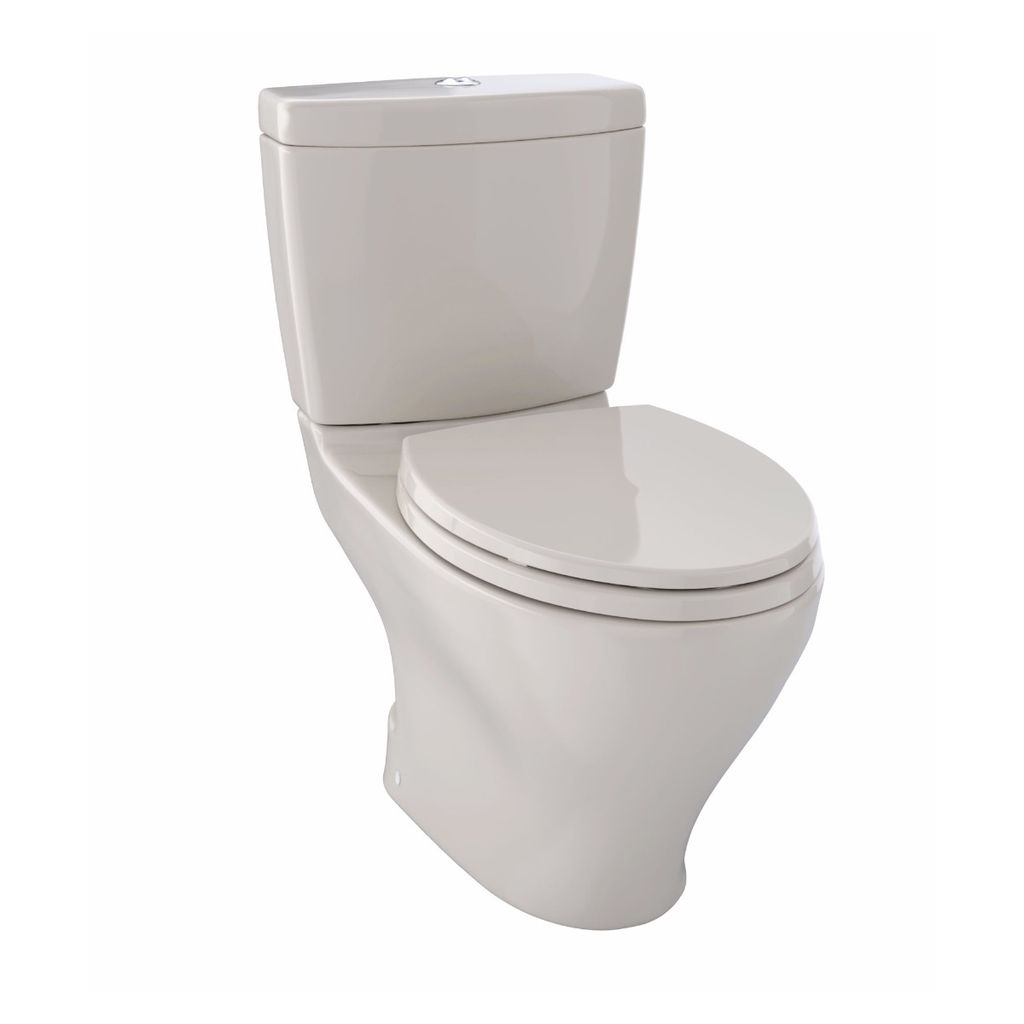 TOTO CST416M Aquia II Dual Flush Two Piece Toilet Bone - Home ...