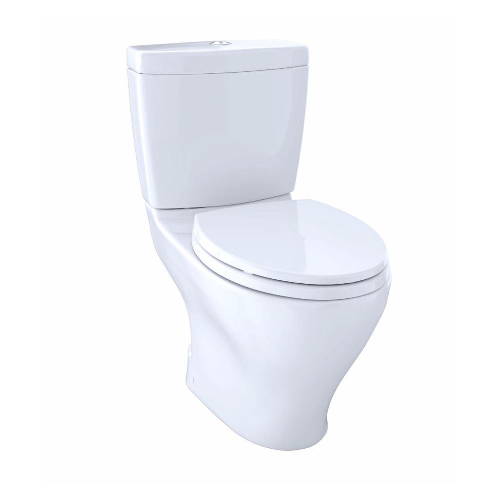 TOTO CST412MF Aquia Dual Flush Two Piece Toilet Cotton - Home ...