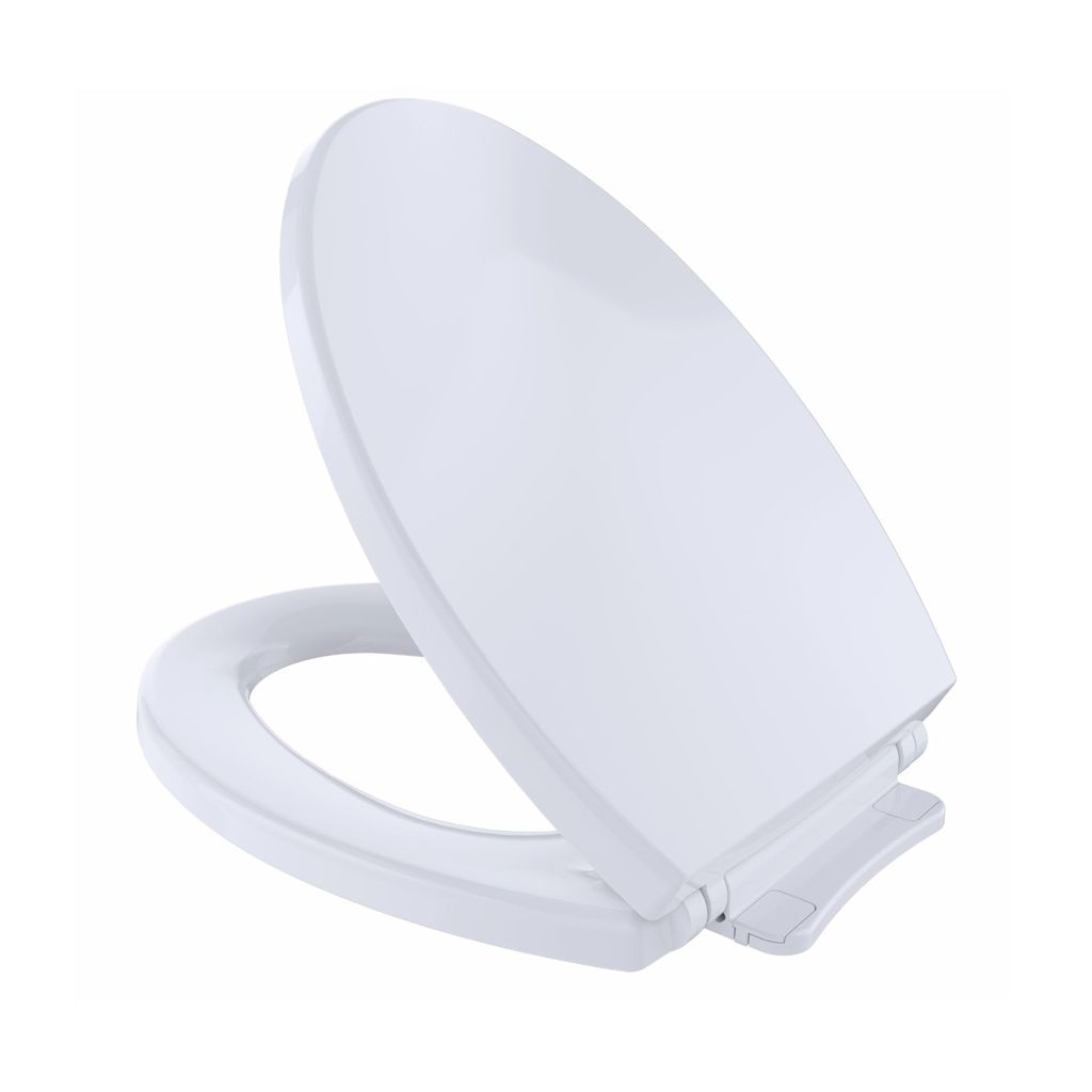 Toto SS114 Elongated Toilet Seat Colonial White - Home Comfort Centre
