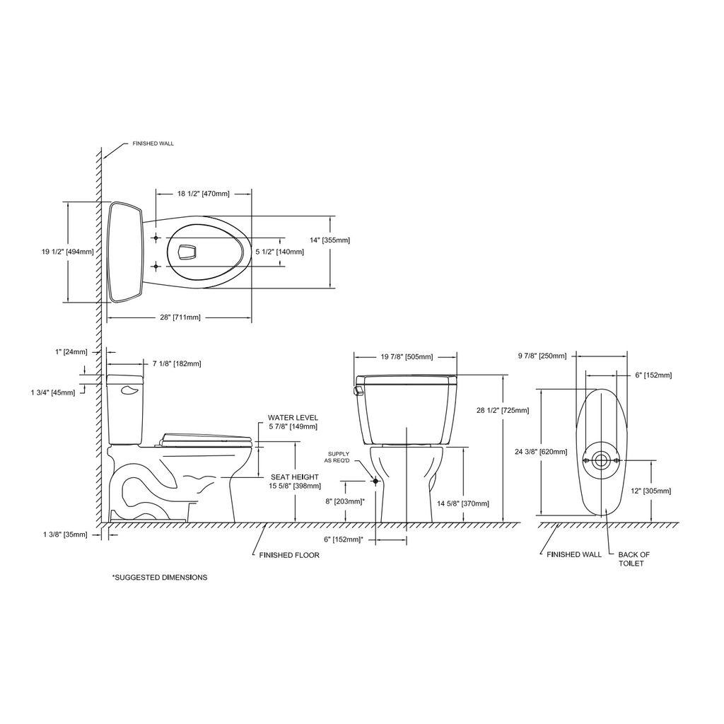 Toto Drake Toilet Diagram - DIY Wiring Diagrams •