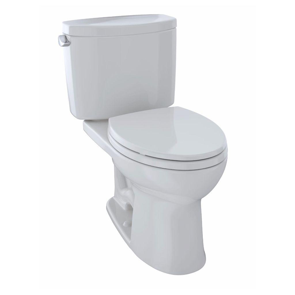 Toto Cst454cefg Drake Ii Two Piece Elongated Toilet