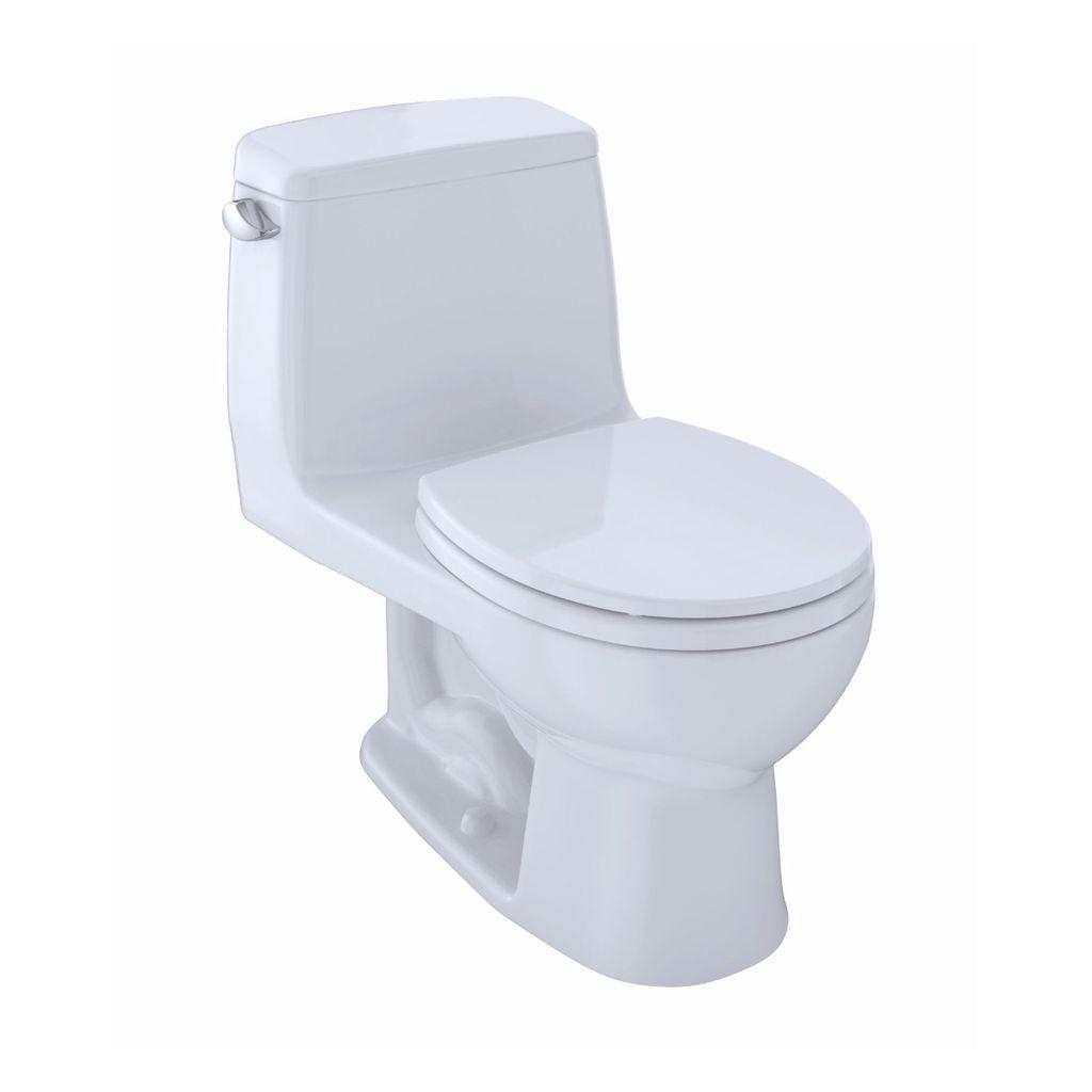 Toto Ms853113e Eco Ultramax Toilet Round Cotton Home