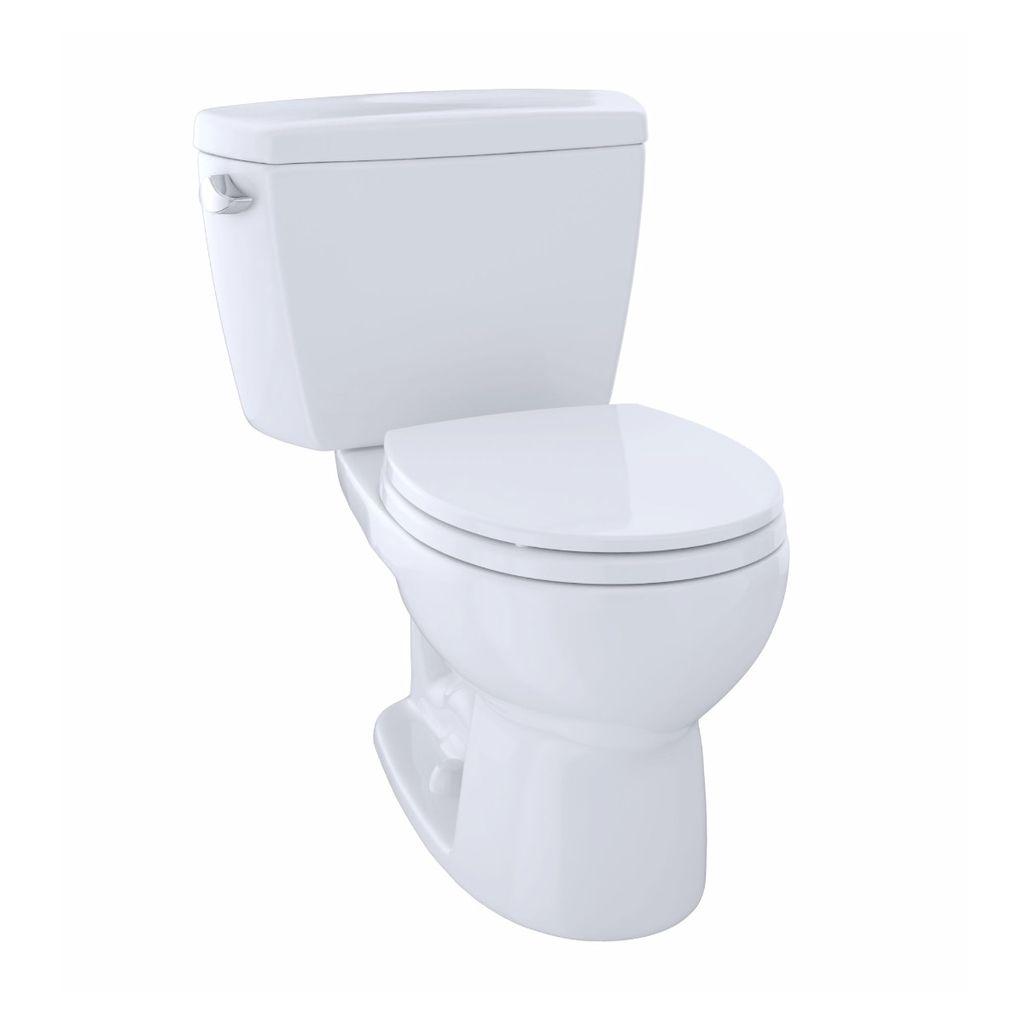 TOTO CST743S Drake Two Piece Round Toilet Cotton - Home Comfort Centre