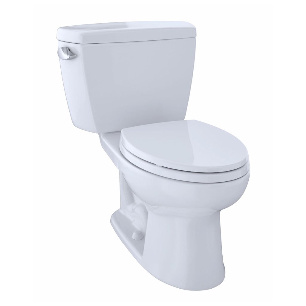 TOTO CST744SL Drake ADA Compliant Two Piece Elongated Toilet Cotton ...