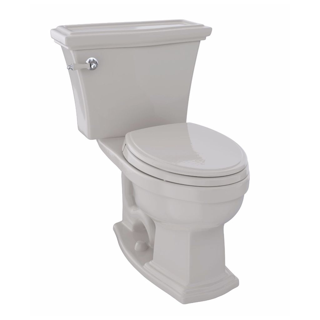 TOTO CST784EF Eco Clayton Two Piece Elongated Toilet Sedona Beige ...