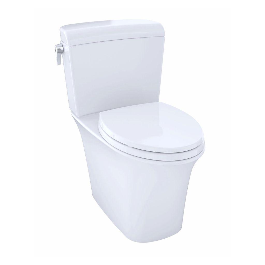 TOTO CST484CEMFG Maris Dual Flush Two Piece Elongated Toilet Cotton ...