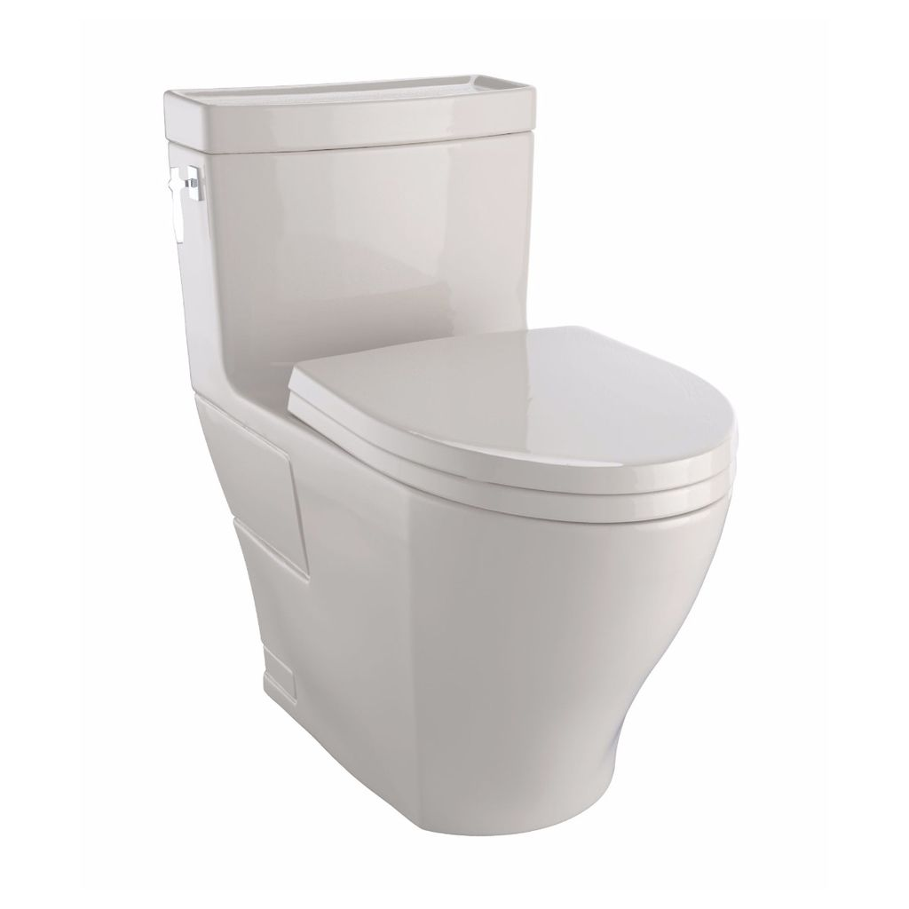 TOTO MS626214CEFG03 Aimes One Piece Toilet 1.28GPF Elongated - Home ...