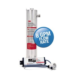 3M 3M 3MUV-8 Ultraviolet Light Water Disinfection System