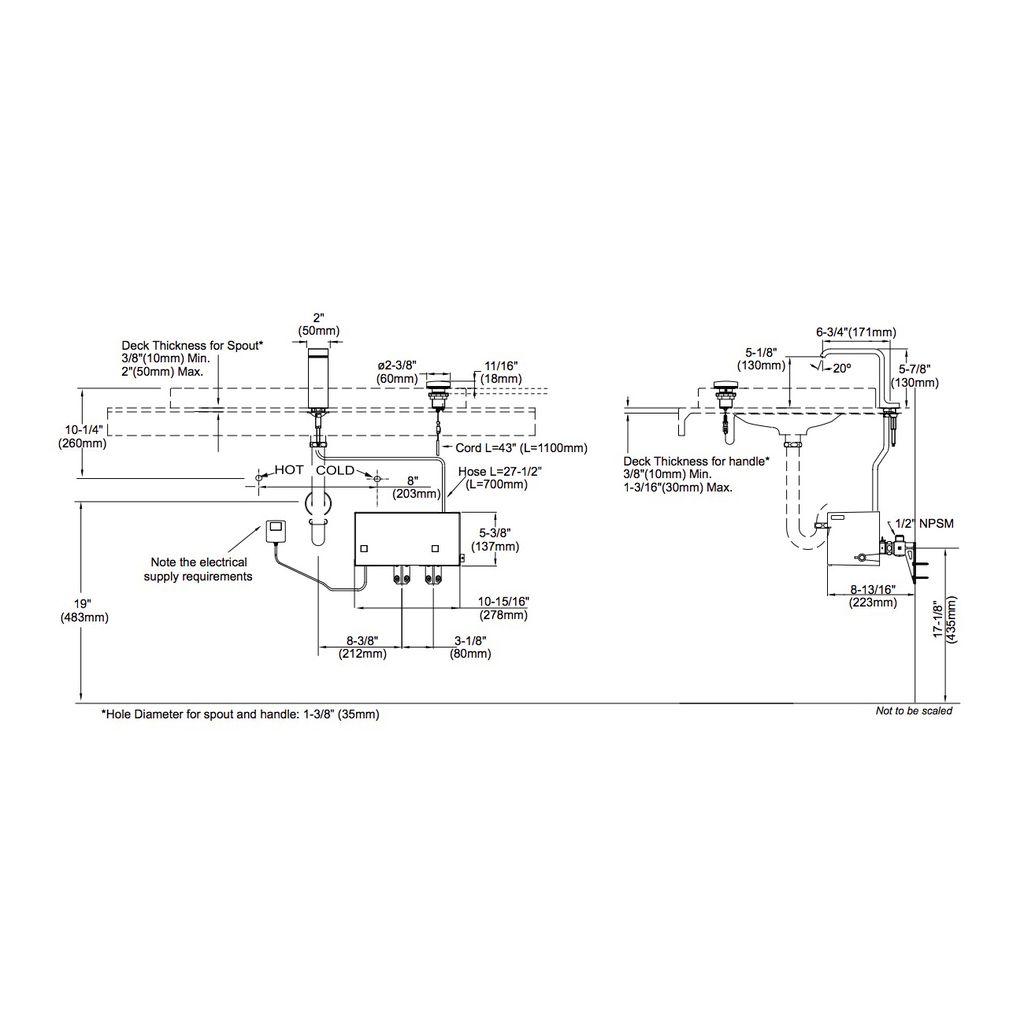 Toto TL993SE Neorest II Lavatory Faucet - Home Comfort Centre