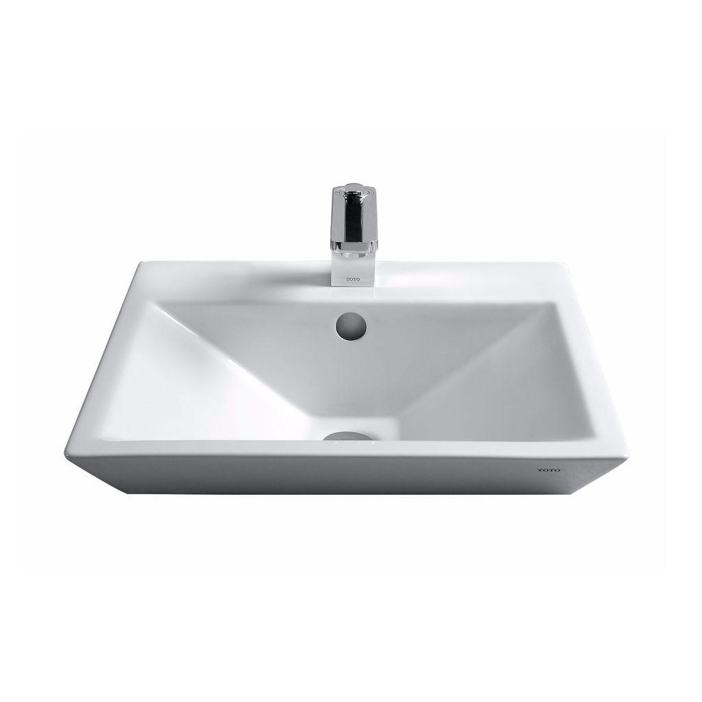 TOTO LT172G Kiwami Renesse Design II Vessel Lavatory Sink Cotton ...