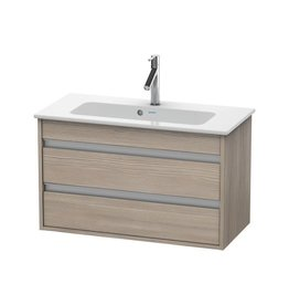 Duravit Duravit KT6453 Ketho Wall Mounted Compact Vanity Unit Pine Silver
