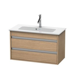 Duravit Duravit KT6453 Ketho Wall Mounted Compact Vanity Unit European Oak