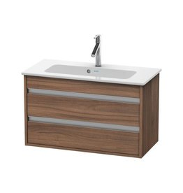 Duravit Duravit KT6453 Ketho Wall Mounted Compact Vanity Unit Natural Walnut