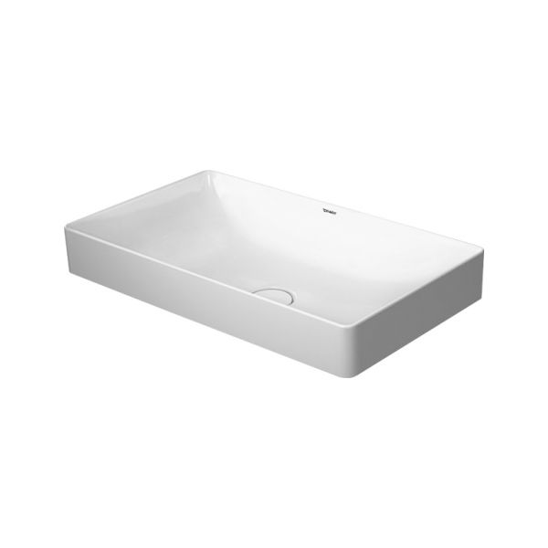 Duravit 235560 Durasquare Without Tap Hole Washbowl Home