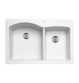 Blanco Blanco 400059 Diamond 1.75 Double Drop In Kitchen Sink