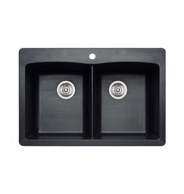 Blanco Blanco 400056 Diamond 210 Drop In Double Kitchen Sink
