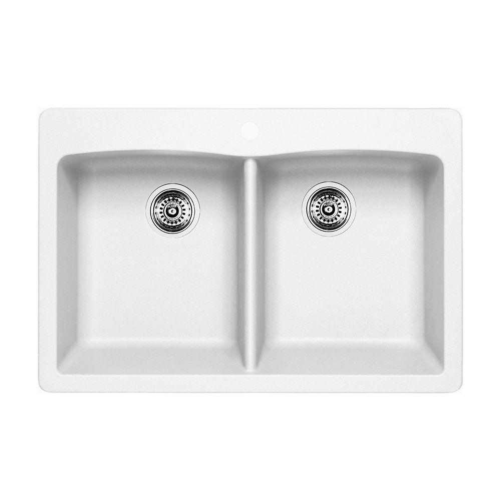 Blanco Blanco 400055 Diamond 210 Drop In Double Kitchen Sink