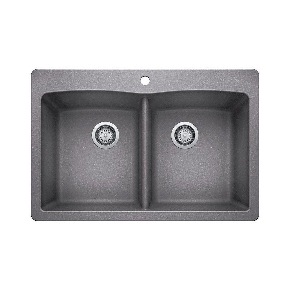 Blanco Blanco 401661 Diamond 210 Drop In Double Kitchen Sink