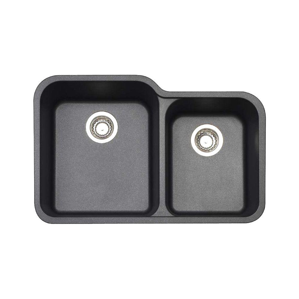 Blanco 401395 Vision U 1.75 Double Undermount Kitchen Sink - Home ...