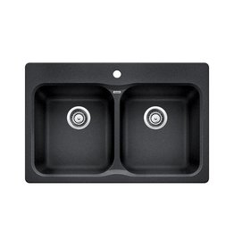 Blanco Blanco 400012 Vision 210 Double Drop In Kitchen Sink