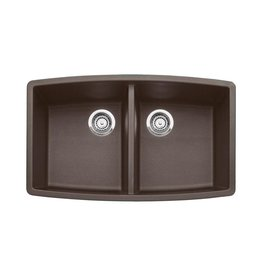 Blanco Blanco 400475 Performa U 2 Double Undermount Kitchen Sink