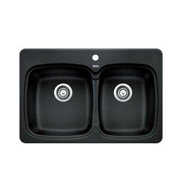 Blanco Blanco 400171 Vienna 210 Double Drop In Kitchen Sink