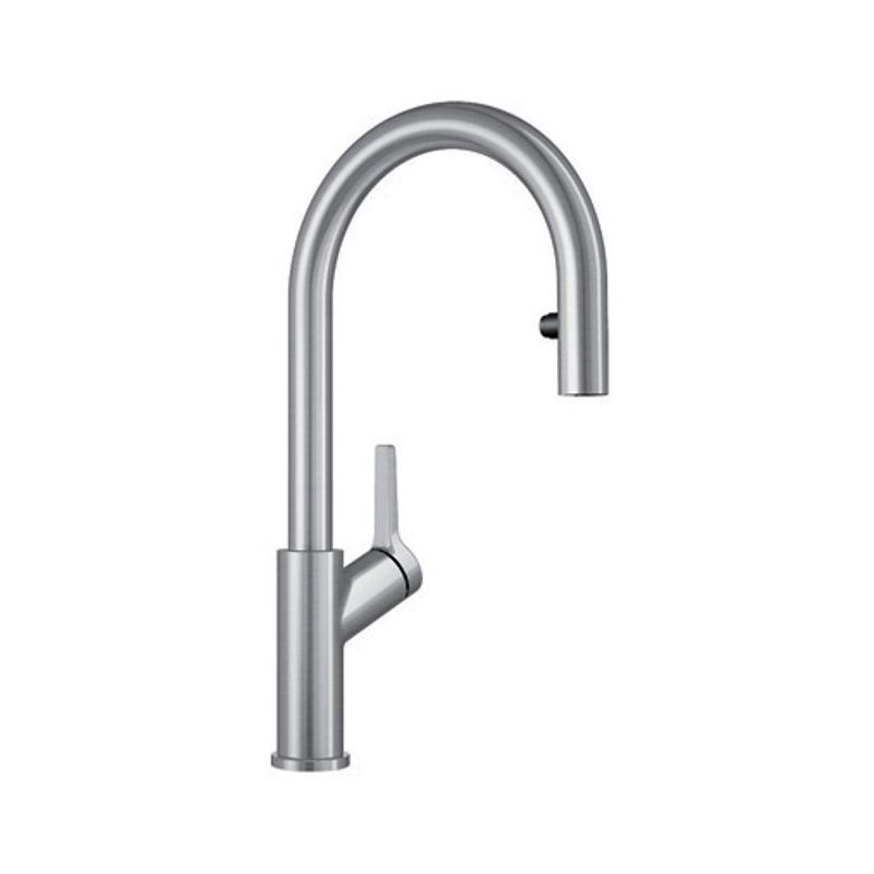 Blanco 403730 Urbena Dual Spray Pull Down Kitchen Faucet