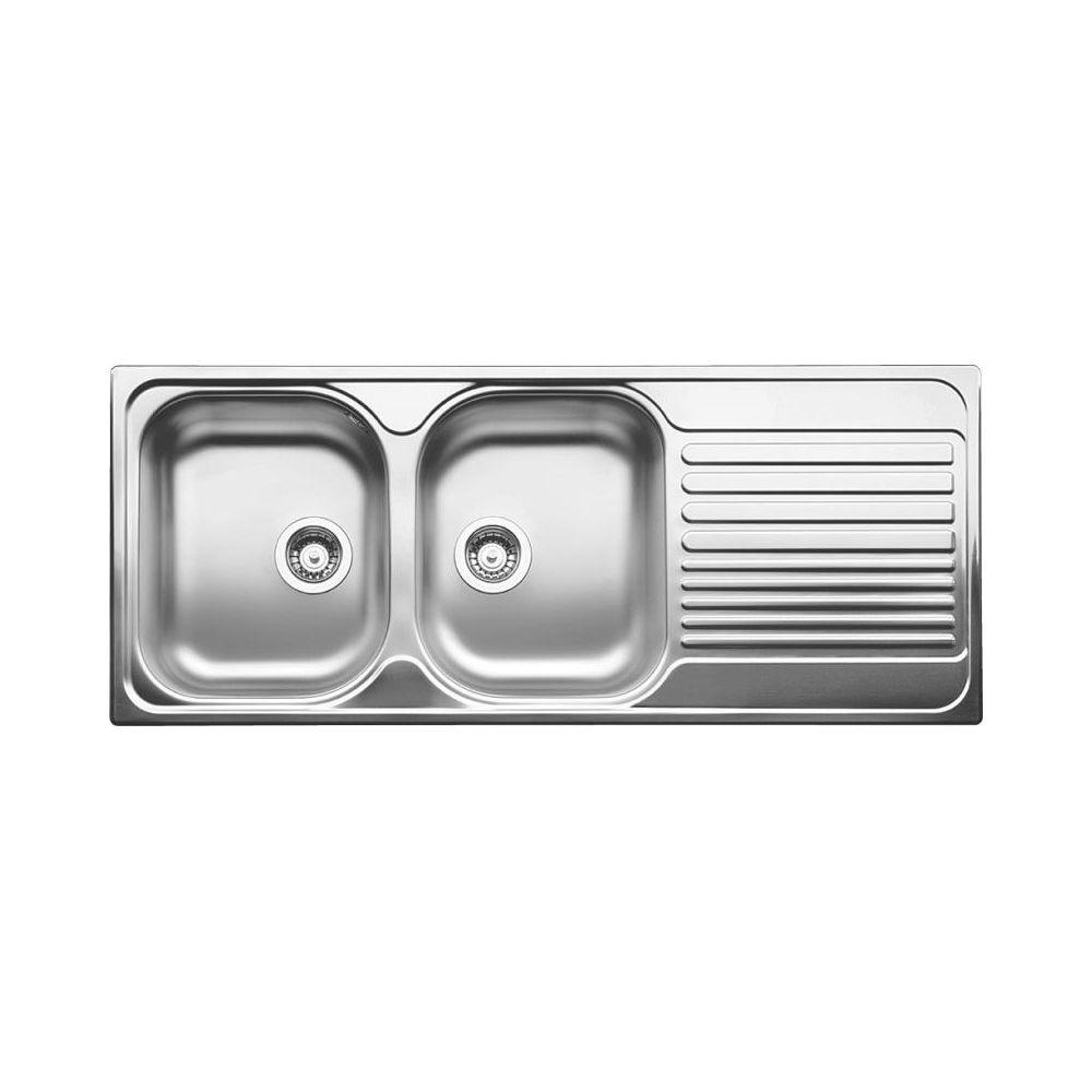 Blanco blanco 401653 tipo 8s double drop in kitchen sink rh drainboard