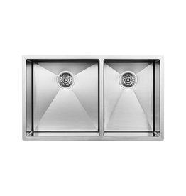 Blanco Blanco 400470 Radius 10 U 1.75 Double Undermount Kitchen Sink