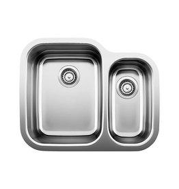 Blanco Blanco 400748 Supreme U 1.5 Double Undermount Kitchen Sink