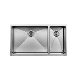 Blanco Blanco 400454 Radius 10 U 1.5 Double Undermount Kitchen Sink