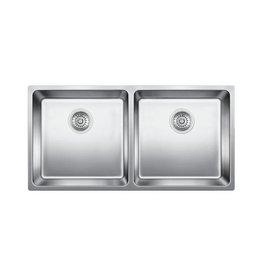 Blanco Blanco 401334 Andano U 2 Double Undermount Kitchen Sink