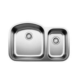Blanco Blanco 401027 Stellar U 1.5 Double Undermount Kitchen Sink
