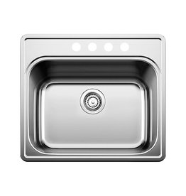 Blanco Blanco 401204 Essential Four Holes Drop In Utility Sink