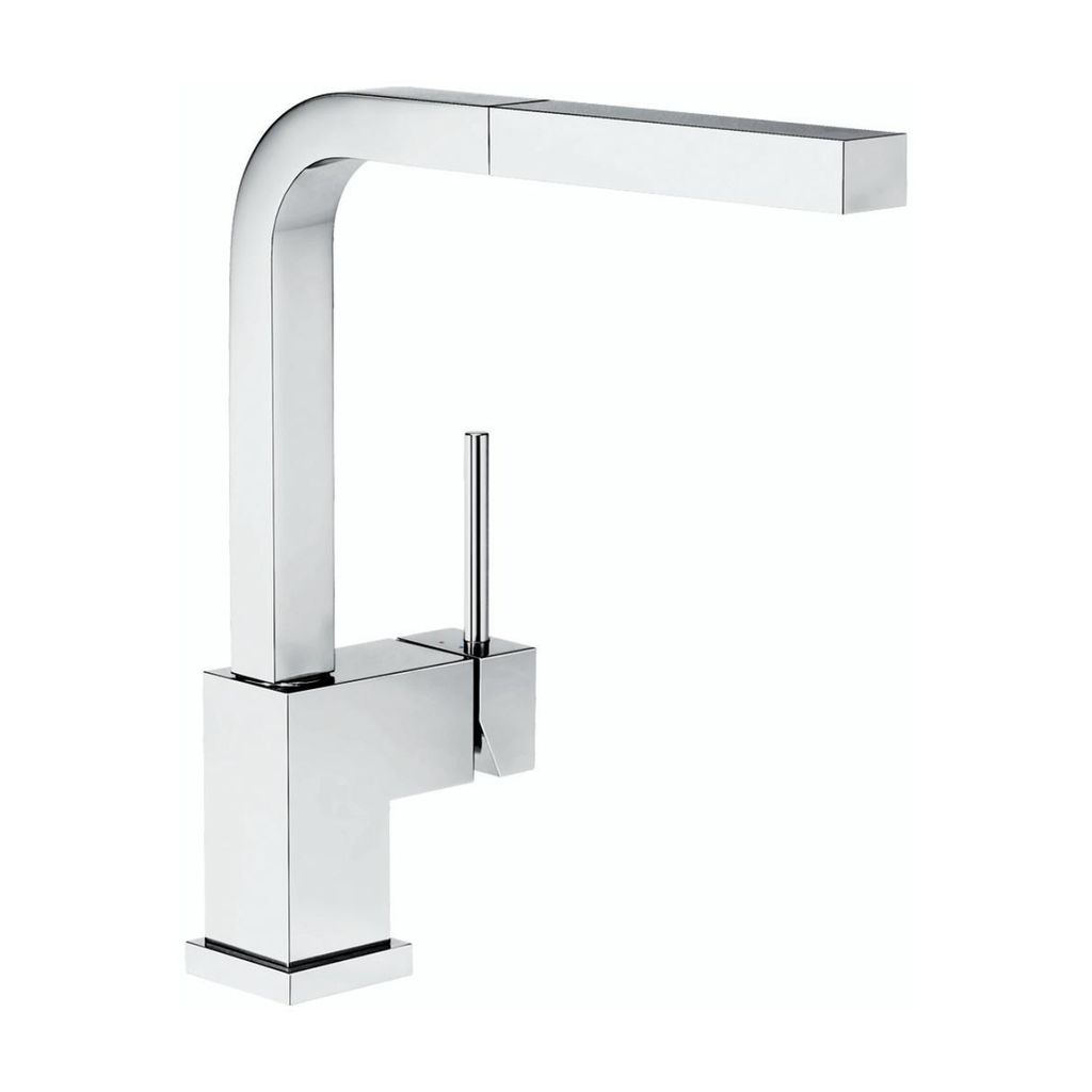 Blanco Blanco 400548 Silhouette Pull Out Kitchen Faucet Chrome ...