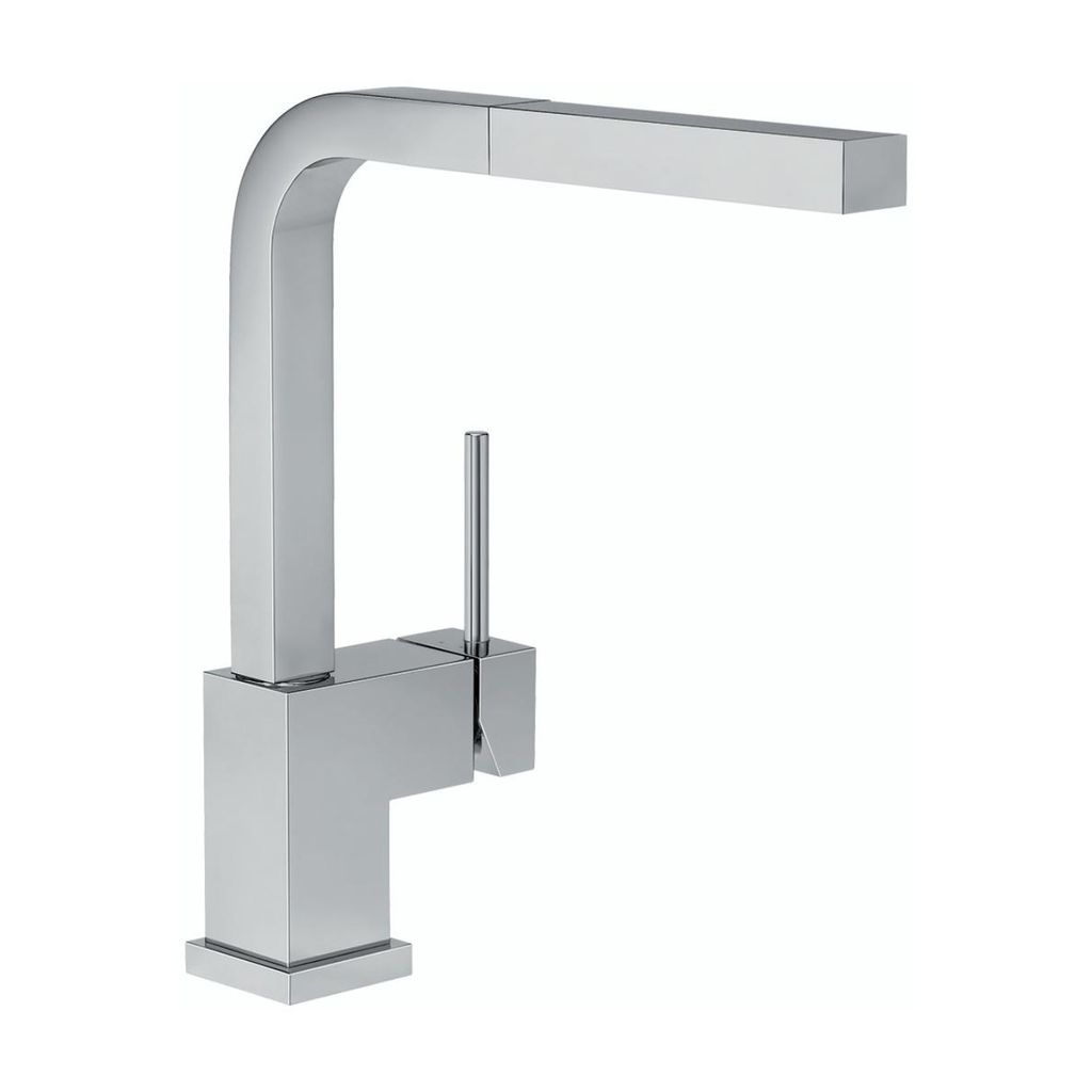 Blanco Blanco 400549 Silhouette Pull Out Kitchen Faucet Stainless Steel ...
