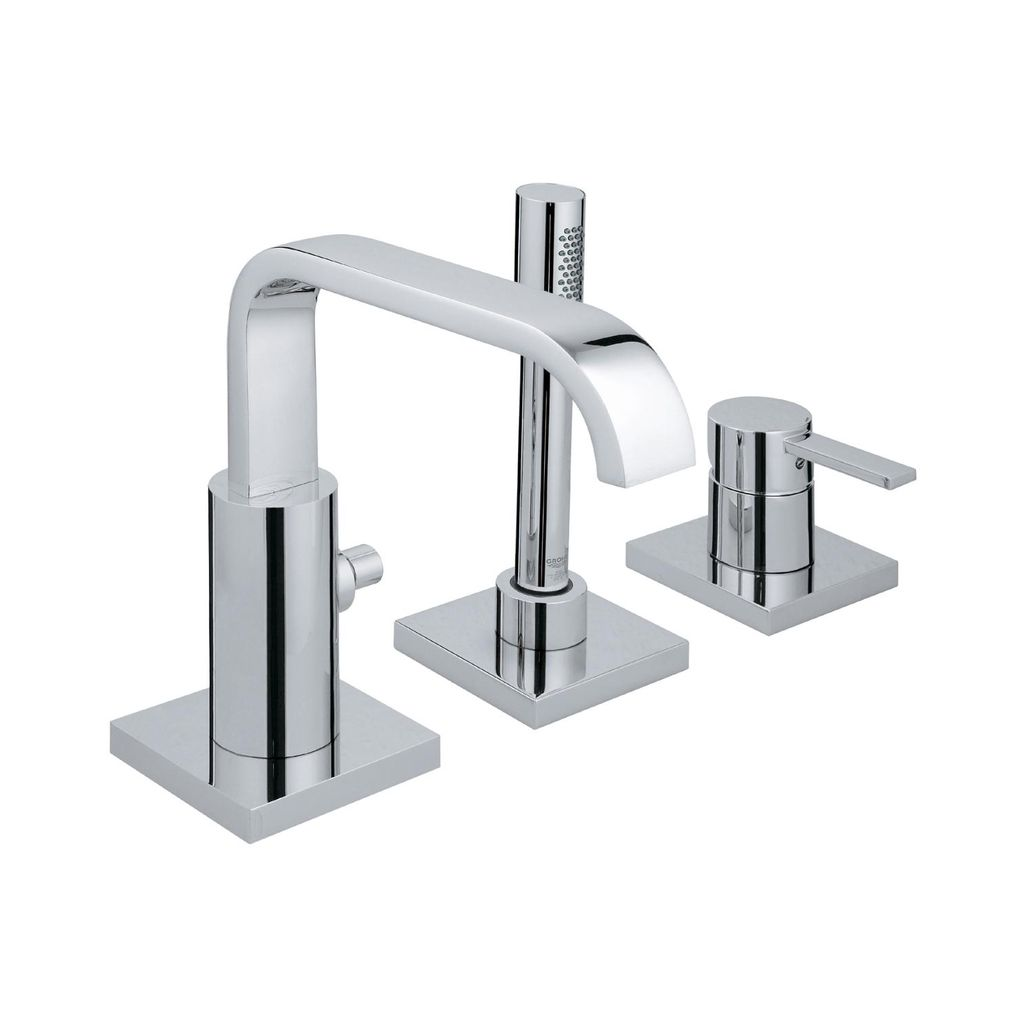Grohe Allure Bathroom Faucet: Grohe 19302001 Allure Roman Bathtub Faucet With Handshower