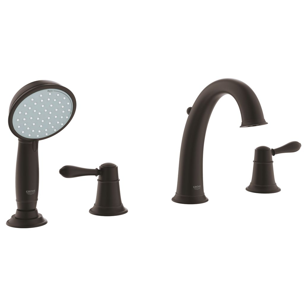 Grohe 25162ZC0 Fairborn Four Hole Roman Bathtub Faucet With ...