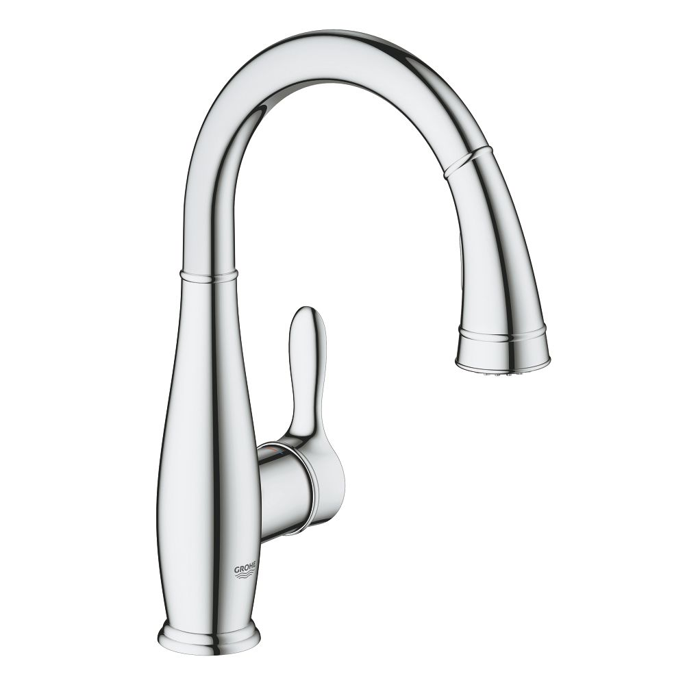 kraus commercial kitchen nola lever handle kpf faucet p single