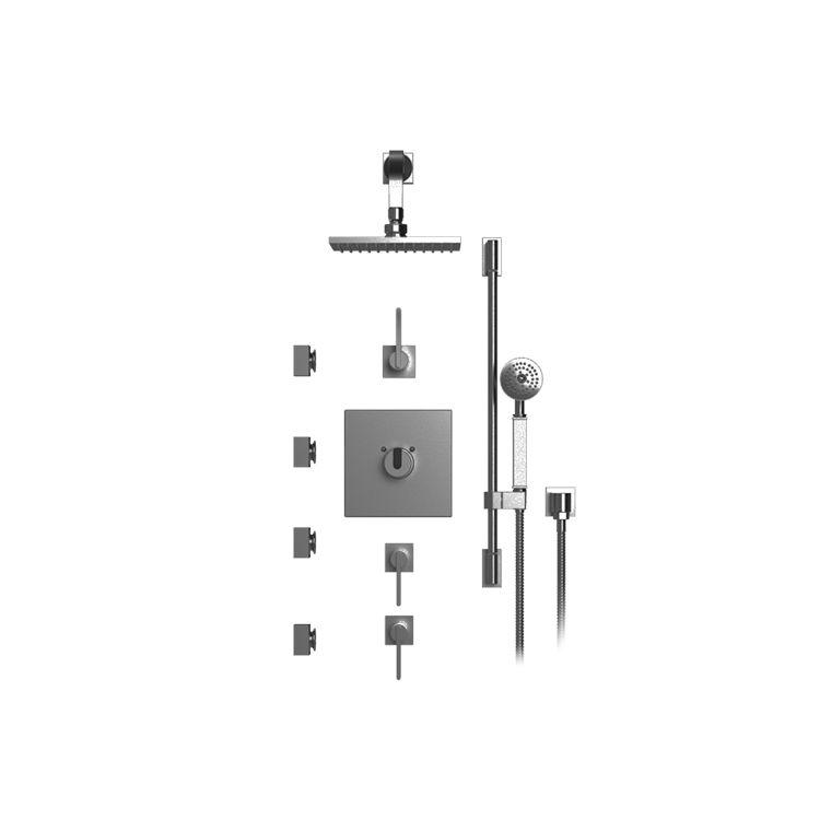 Rubinet 46rtlchabm R10 Temperature Control Shower With