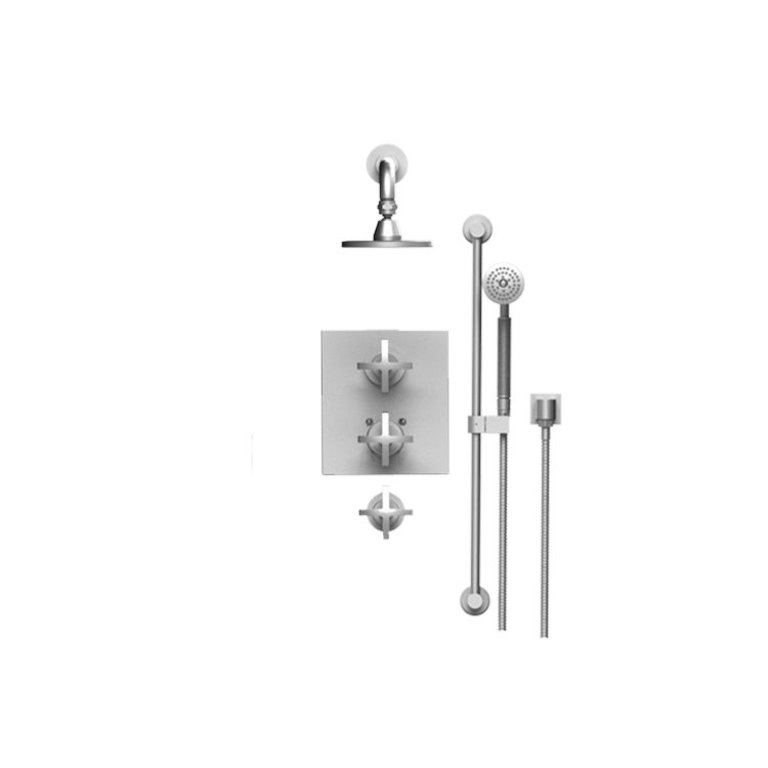 Rubinet T40lalchch Lasalle Temperature Control Shower With Two Separate Volume Controls Chrome Home Comfort Centre