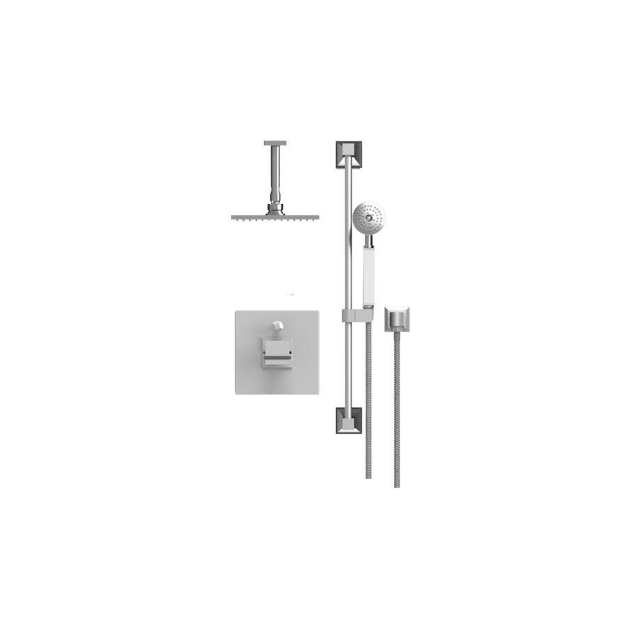 Rubinet 213MQ1CHABM Matthew Quinn Pressure Balance Shower With Fixed ...